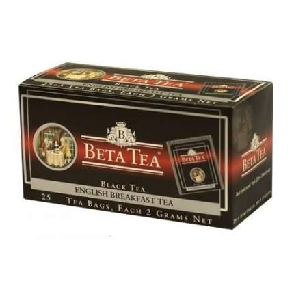 Чай черный в пакетиках для чашки Beta Tea английский завтрак 25*2 г
