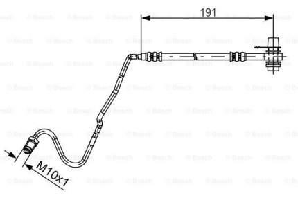 Шланг тормозной системы Bosch 1 987 481 537