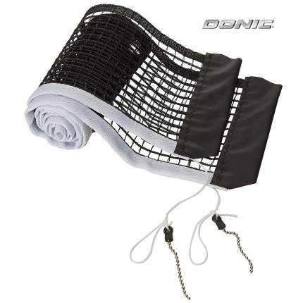 Сетка для настольного тенниса Donic Nylon Net черно-белая