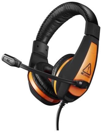Игровые наушники Canyon Star Raider CND-SGHS1 Orange/Black
