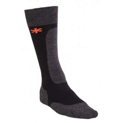 Носки Norfin Wool Long черно-серые L