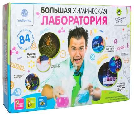 Набор химических экспериментов Большая химическая лаборатория Опыты профессора Николя