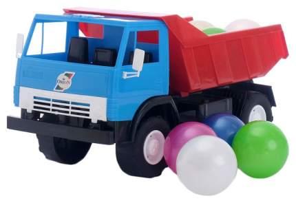 Машинка Орион Самосвал Х2+Набор шариков 471в2