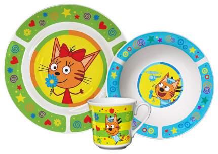 Набор для кормления Приор Групп Три кота Зеленый