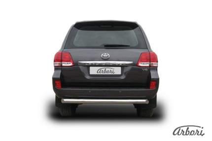 Защита заднего бампера d76 Arbori для Toyota LC200 2007-2012