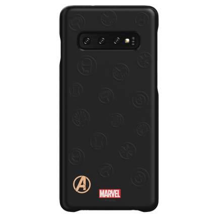 Чехол Samsung для S10 Marvel Black