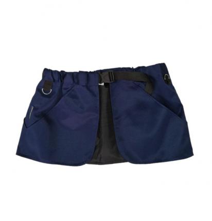 Сумка для лакомств OSSO Fashion полиэстер, размер S-M, с карманом, синий