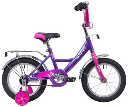 Велосипед двухколесный Novatrack Vector 16 Фиолетовый