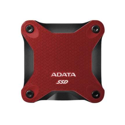 Внешний SSD накопитель ADATA SD600Q 240GB Red (ASD600Q-240GU31-CRD)