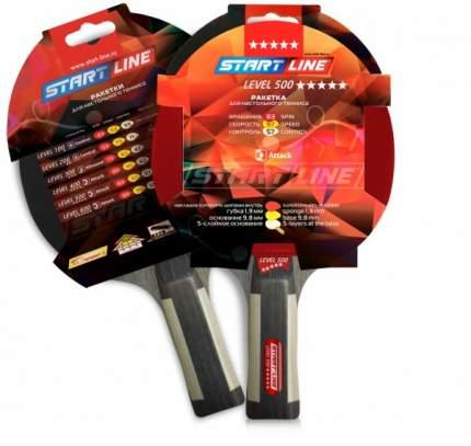 Ракетка для настольного тенниса Start Line 12603 Level 500, черно-красная