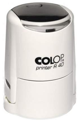 Оснастка для печати Colop Printer R40 Cover. Цвет корпуса: белый.