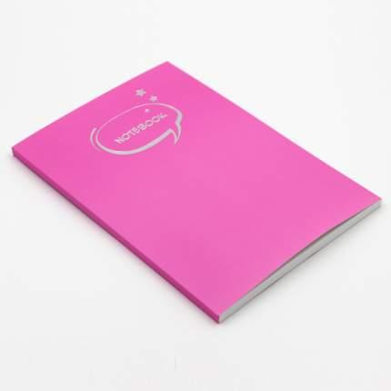 "Тетрадь ""Розовый пион"" (А5-, 80л, ШКС, клетка), ТФ5806036"