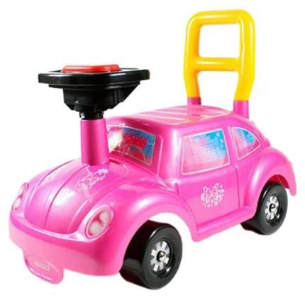 Каталка детская Нордпласт Go! Розовое чудо 431012