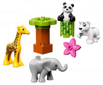 Конструктор LEGO Duplo Детишки животных