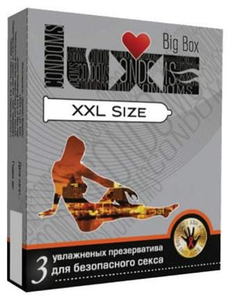 Презервативы Luxe XXL size 3 шт.