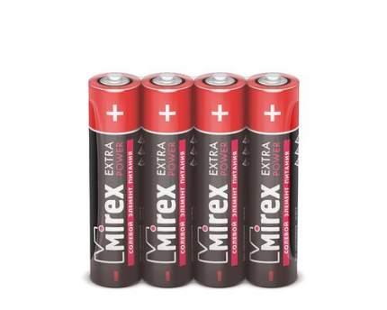 Батарейка солевая Mirex R03/AAA 1,5V 4 шт