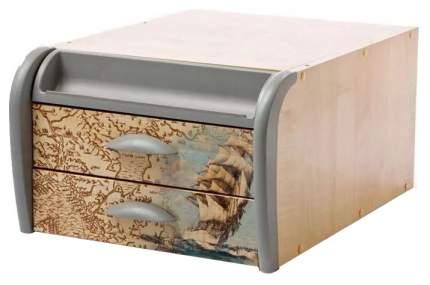 Тумба навесная для парт с рисунком Дэми Фрегат СУТ-15 Клен