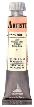 Масляная краска Maimeri Artisti M0102076 желтый яркий темный 20 мл
