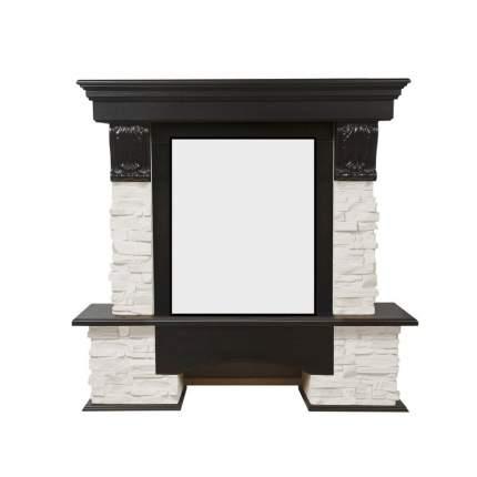 Портал из камня для камина Electrolux Pietra Classic белый/венге