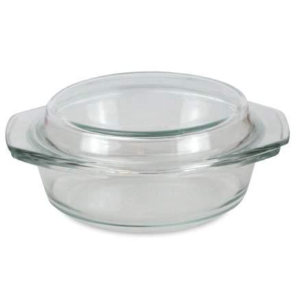 Форма стеклянная с крышкой круглая 2.5л
