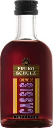 Ликер  Fruko Schulz Creme de Cassis 50 мл