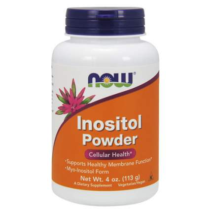 NOW Inositol Powder 4 oz. (113 грамм) - витамин b8, инозитол