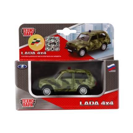 Внедорожник инерционный Технопарк Lada 4x4