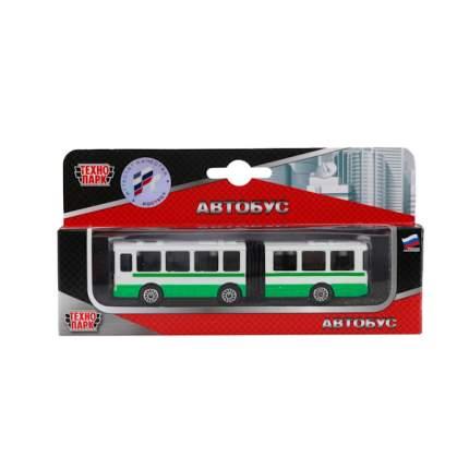 Автобус с резинкой Технопарк металл. 12 см