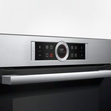 Встраиваемый электрический духовой шкаф Bosch HBG655BS1 Silver