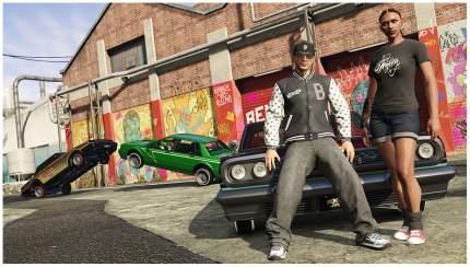 Игра Grand Theft Auto V для Xbox One