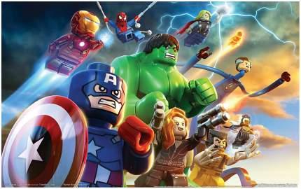 Игра LEGO Marvel Super Heroes для PC
