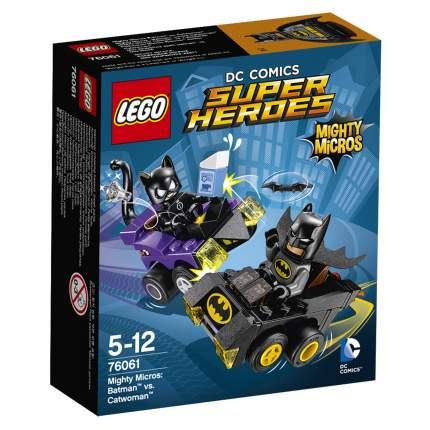 Конструктор LEGO DC Comics Super Heroes Бэтмен против Женщины‑кошки (76061)