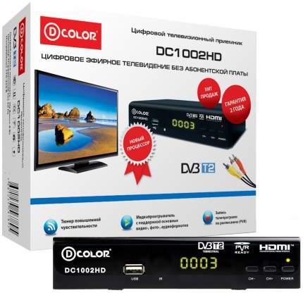 DVB-T2 приставка D-COLOR DC1002HD black