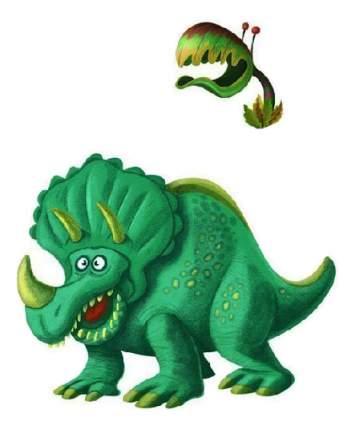 Наклейка декоративная для детской комнаты Djeco Dinosaurs