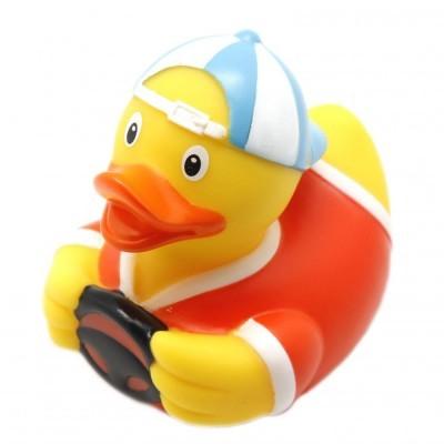 Игрушка для купания ВЕСЕЛЫЕ УТИ-ПУТИ Уточка водитель (1826)