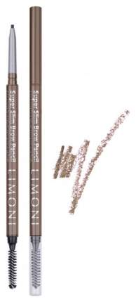 Карандаш для бровей LIMONI Super Slim Brow Pencil 03 Ash 0,09 г