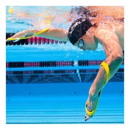 Лопатки для плавания Finis Forearm Fulcrum Paddles 1.05.028.50 желтые/черные
