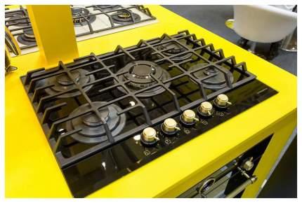 Встраиваемая варочная панель газовая MAUNFELD MGHG 75 13RIG Black