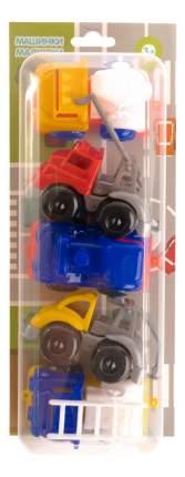 Набор пластиковых машинок Пластмастер Малютка, 5 шт.