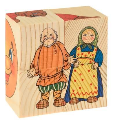 Детские кубики Анданте Колобок