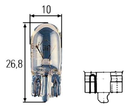 Лампа Hella 5W W2.1x9.5d 8GP 003 594-121