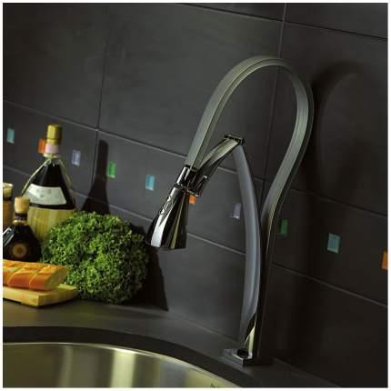 Смеситель для кухонной мойки Paini Hybrid HKPW557YOSIKKM черный