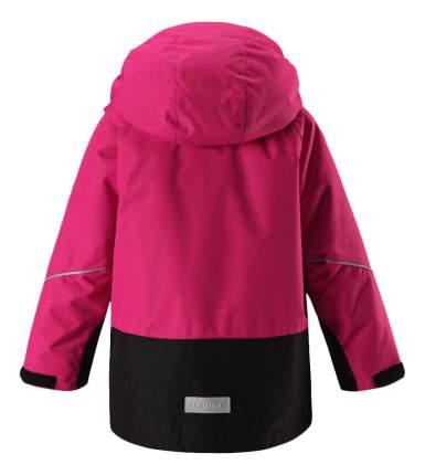 Куртка Reima зимняя Reimatec Kiddo Botnia черно-розовая р.140