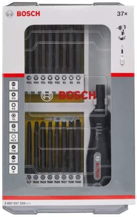 Наборная отвертка с насадками Bosch 37pc SDB Set 2607017320