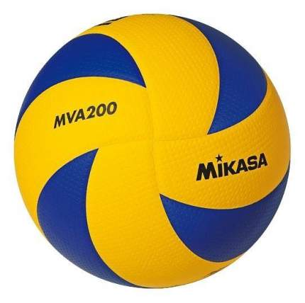 Волейбольный мяч Mikasa MVA200 №5 blue/yellow