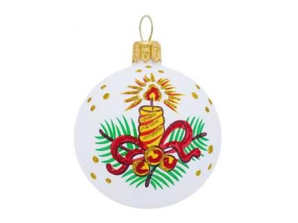 Набор шаров Рождественский мотив Елочка С 1679