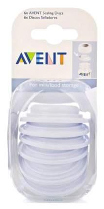 Крышка силиконовая для бутылочки Avent Philips 6 шт.