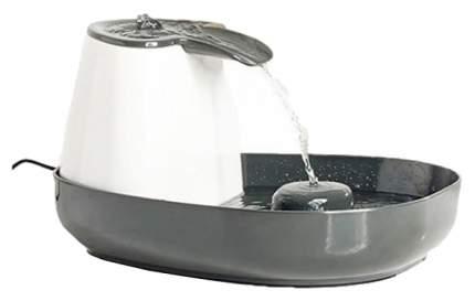 Автопоилка-фонтан для кошек и собак Savic, серый, белый, 1.5 л
