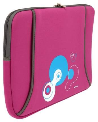 "Чехол для ноутбука 14"" Sumdex NUN-824MH розовый/серый"
