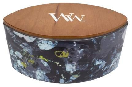 Ароматическая свеча WoodWick Черное дерево 813-072 Белый, черный